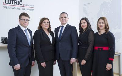 30 let družinskega podjetja LOTRIČ Metrology, člana SRIP Zdravje – medicina, s prebojnimi inovacijami in močno podporo družbi