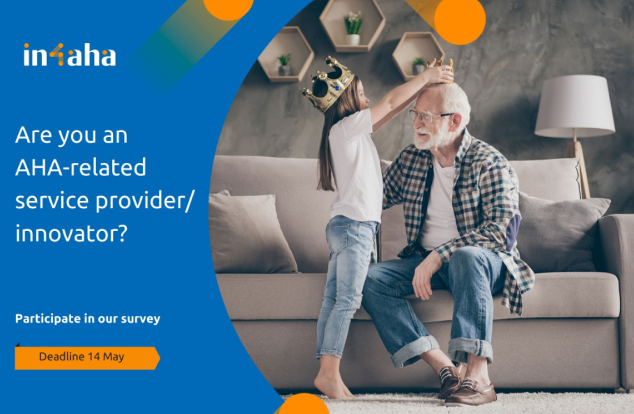 Survey to AHA-related service providers/innovators