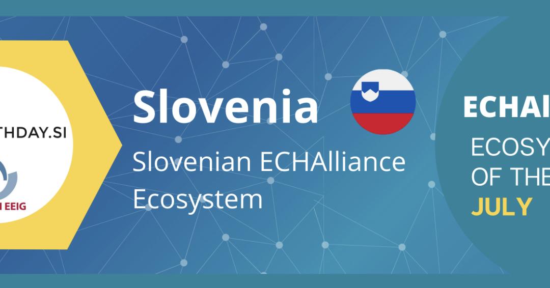 ECHAlliance: Slovenija je ekosistem meseca julija