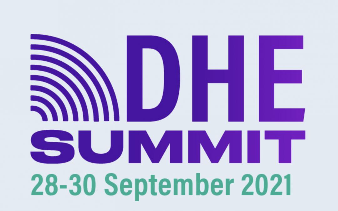 Vabilo: DHE SUMMIT 2021, 28. – 30. 09.