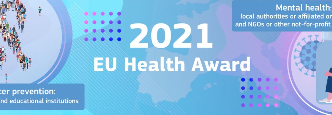 EU Health Award 2021 – povabilo k sodelovanju